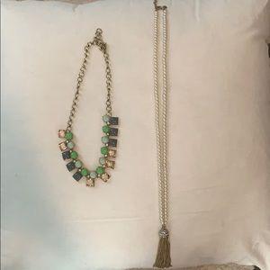 2 jcrew necklaces